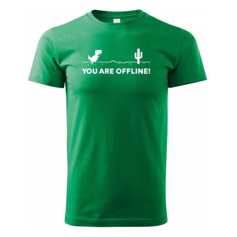 Dětské tričko You are Offline - ideální triko pro Geeky