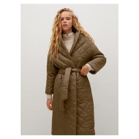 Brown 100-year-old Mango coat