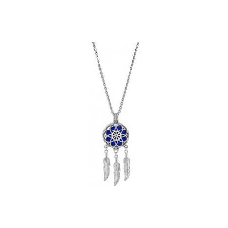 Troli Multifunkčný oceľový náhrdelník Lapač snov s vymeniteľným stredom Aroma