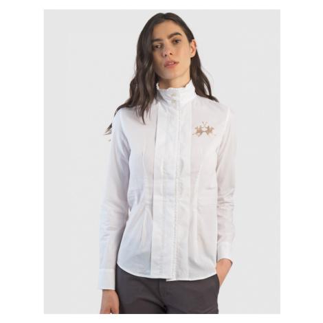 Košeľa La Martina Woman Cotton Poplin Shirt L/S
