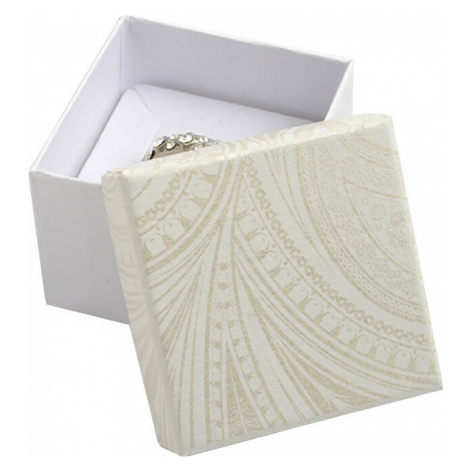 JK Box Darčeková krabička na prsteň alebo náušnice MR-3 / A20 JKbox
