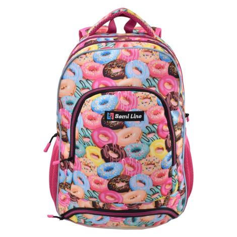 Semiline Kids's Backpack J4674-4 Multicolour
