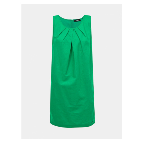 Zelené ľanové šaty ZOOT Eleonora