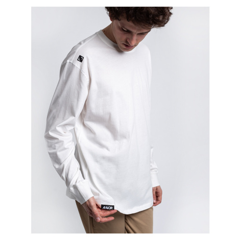 Aevor Base Longsleeve Tee Snow White