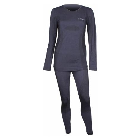 Merino WOMEN dámský funkční set barva: černá;velikost oblečení: M-L Lenz