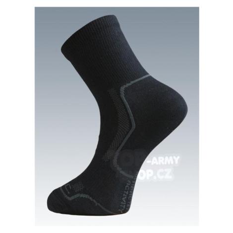 Ponožky so striebrom Batac Classic - black