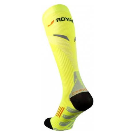 Kompresný podkolienky ROYAL BAY® Neon 2.0 Yellow 1099