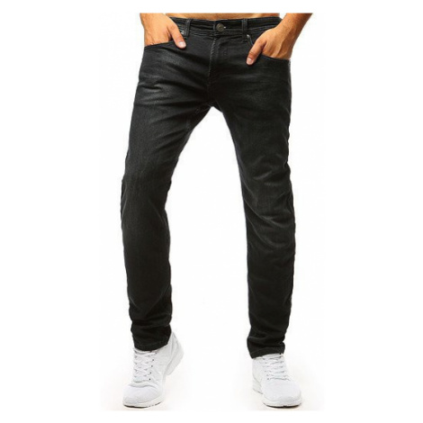 Men's black jeans pants UX1363 DStreet