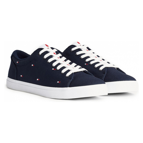 Tommy Hilfiger tmavomodré pánske tenisky Essential Vulc Seasonal Sneaker