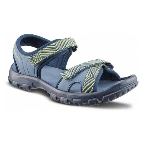 QUECHUA Detské Sandále Mh100 Tw Modré