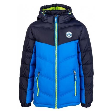 Lewro ERNIE modrá - Detská prešívaná bunda