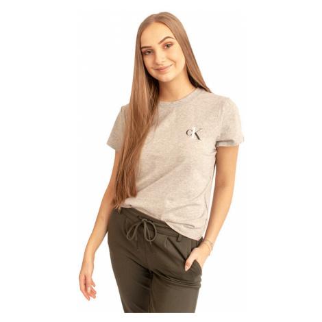 Dámske tričko Calvin Klein sivé (QS6356E-020)