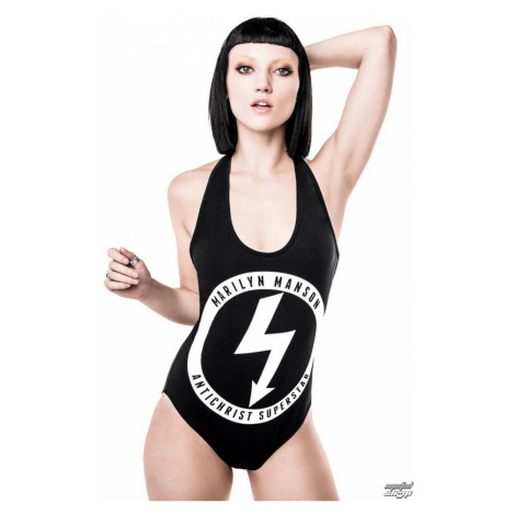 tričko KILLSTAR Marilyn Manson No Turning Back Čierna