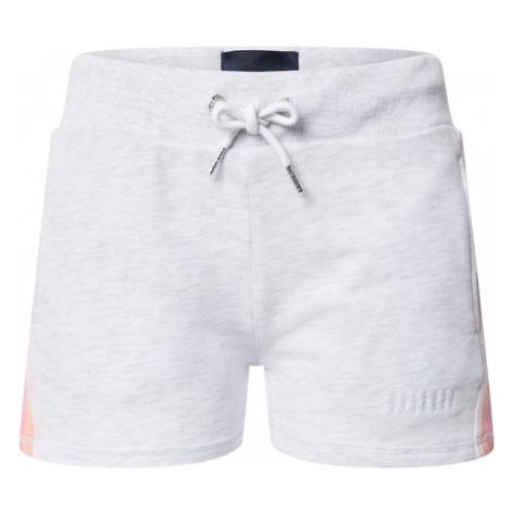 Superdry Nohavice  ružová / biela / horčicová