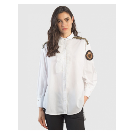 Košeľa La Martina Woman Cotton Popeline Shirt