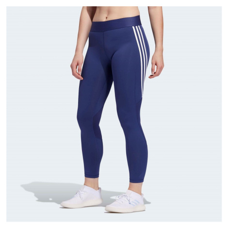 Adidas Womens Alphaskin 3-Stripes Leggings