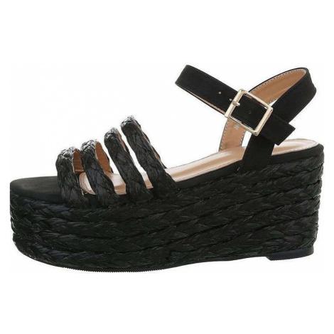 Dámske sandále na kline