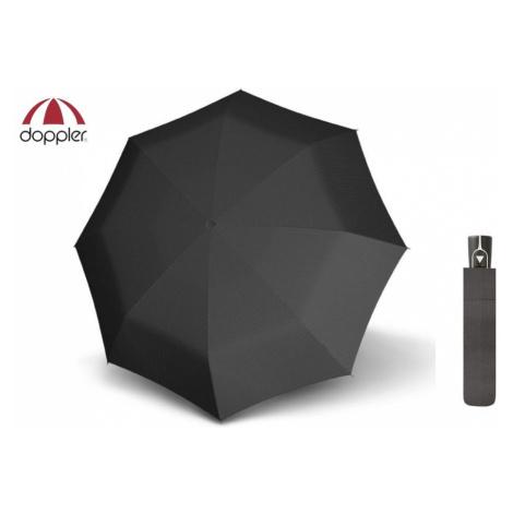 Čierny vzorovaný dáždnik Doppler Fiber AC