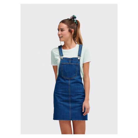 Modré džínsové šaty Alcott