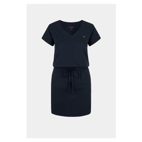Dámske modré šaty LOAP Blanka