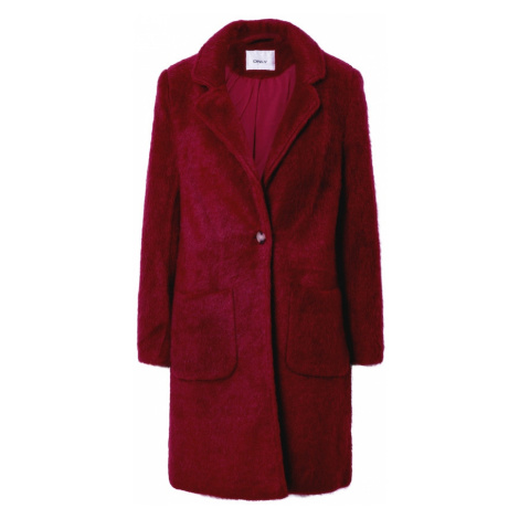 ONLY Prechodný kabát 'Claire'  bordová