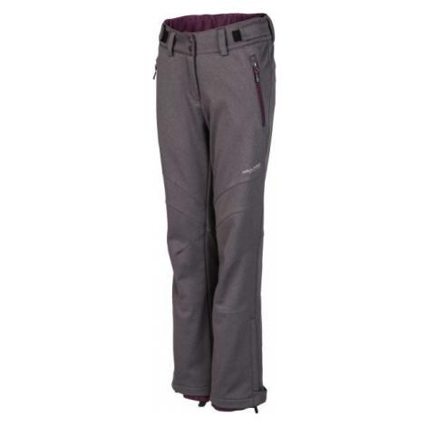 Willard ROSALINDA sivá - Dámske softshellové nohavice