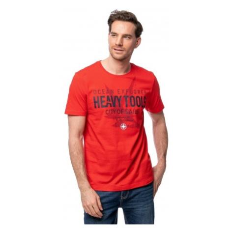Heavy Tools Pánske tričko Madanes red C3S21316RE