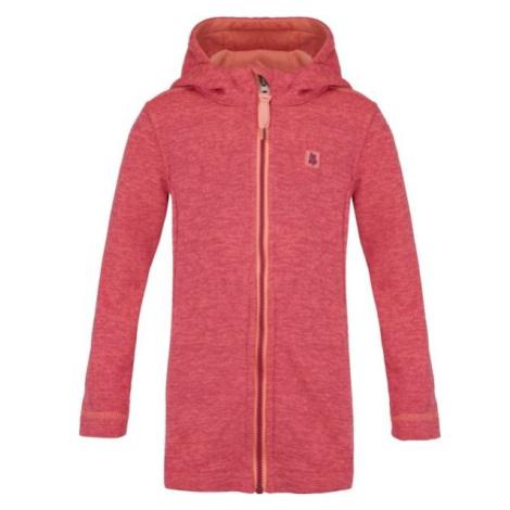 Loap GENUFA ružová - Dievčenský sveter
