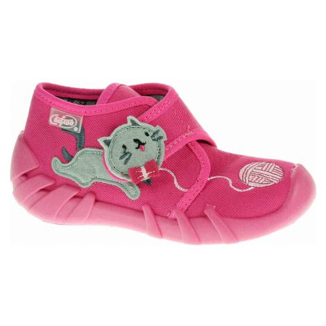 Dívčí bačkory Befado 523P013 růžová 523P013