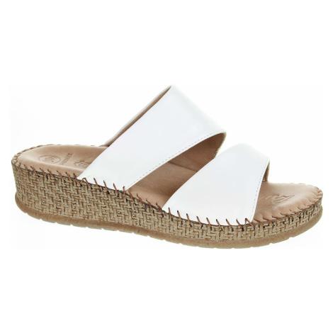 Dámské pantofle Salamander 32-40505-40 white 32-40505-40