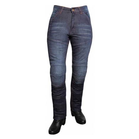 Dámske jeansové moto nohavice ROLEFF Aramid Lady Farba modrá