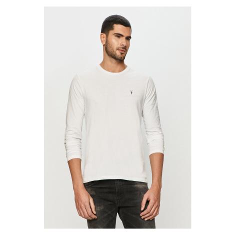 AllSaints - Tričko s dlhým rukávom Brace LS Tonic Crew