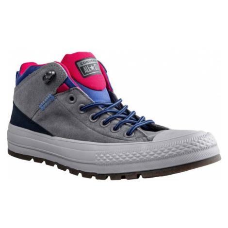 Converse CHUCK TAYLOR ALL STAR STREET BOOT šedá - Pánska obuv na voľný čas