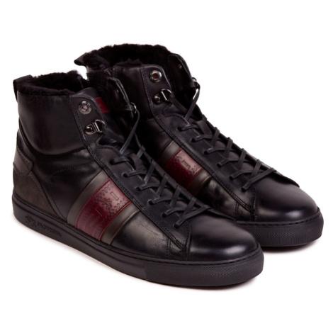 Členková Obuv La Martina Man Shoes Ohio Calf Leather