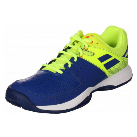 Pulsion Clay Men 2019 tenisová obuv barva: modrá;velikost (obuv / ponožky): UK 11 Babolat