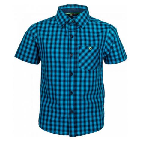 Lewro MELVIN čierna - Chlapčenská košeľa