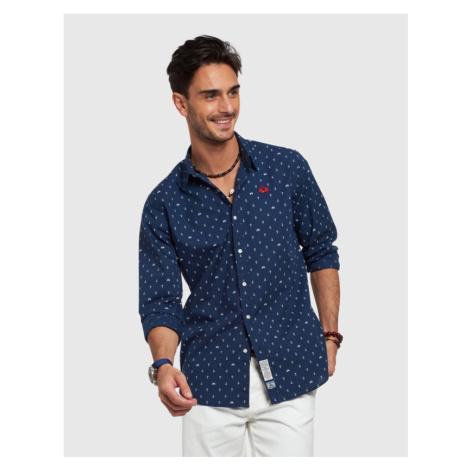 Košeľa La Martina Man Shirt Long Sleeves Printed