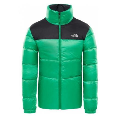 The North Face NUPTSE III JACKET zelená - Pánska zateplená bunda
