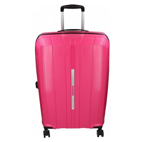 Cestovný kufor Snowball Barcelona L - ružová