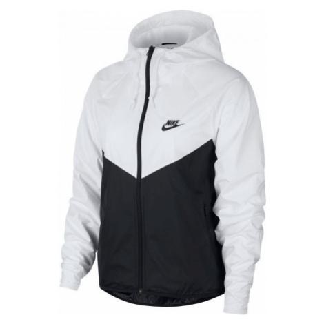 Nike NSW WR JKT FEM biela - Dámska bunda