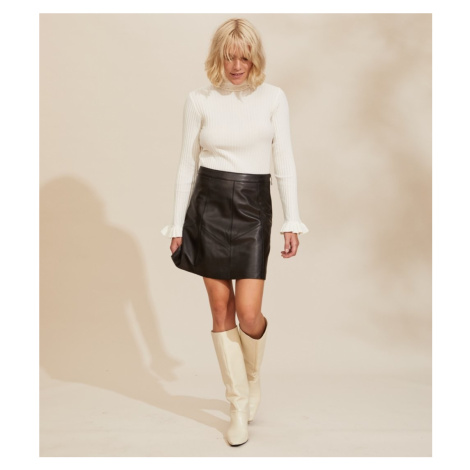 Sukňa Odd Molly Victoria Leather Skirt