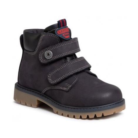 Šnurovacia obuv Lasocki Kids CI12-TREMP-02 Prírodná koža(useň) - Nubuk