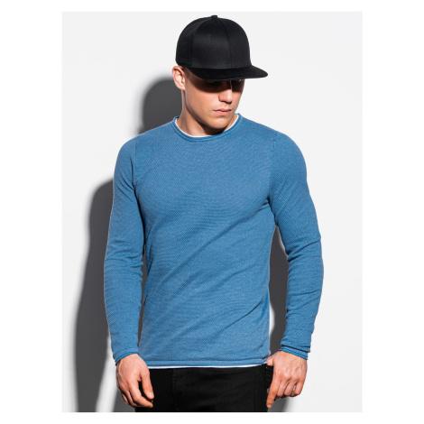 Pánsky sveter E121 - blankytná