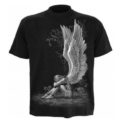 tričko SPIRAL Enslaved Angel Čierna