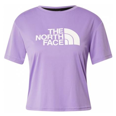THE NORTH FACE Funkčné tričko  svetlofialová / biela / čierna