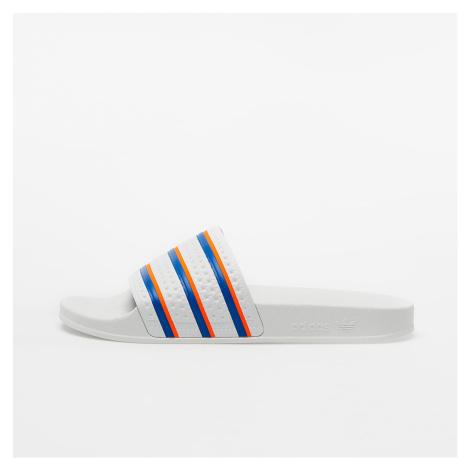 adidas Adilette Ftw White/ Blue/ Solar Red