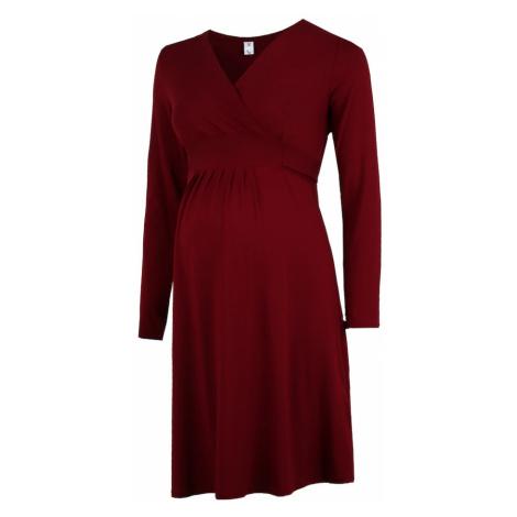 Bebefield Šaty 'Rebecca'  vínovo červená
