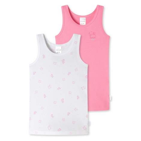 SCHIESSER Tielko  biela / ružová