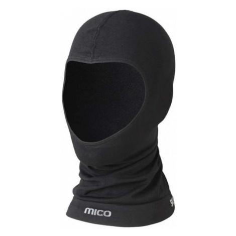 Mico WARM JNR čierna - Juniorská lyžiarska zatepľovacia kukla