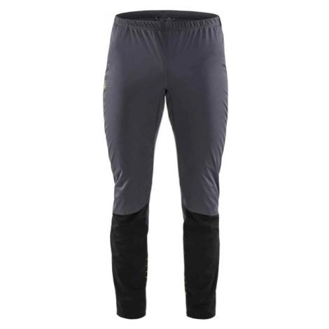 Craft STORM BALANCE sivá - Pánske nohavice na bežecké lyžovanie